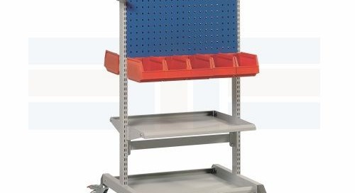 Mobile Trolley Carts | Portable Steel Customizable Workbenches