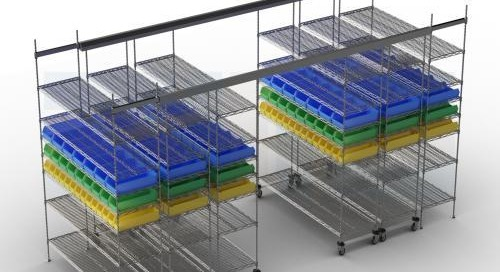 Top Track Mobile Shelving | Overhead Wire Sliding Storage