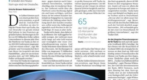 Handelsblatt: Inkasso a la Silicon Valley
