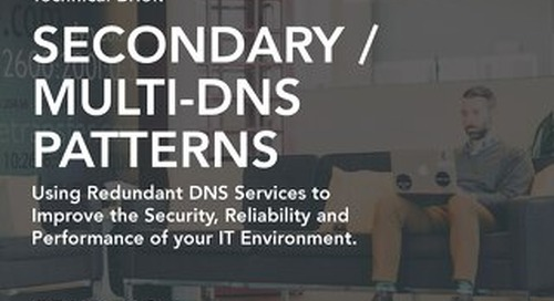 Technical Brief - Improve Performance and Reliability with Supplemental DNS
