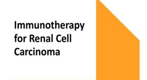 Immunotherapy for Renal Cell Carcinoma