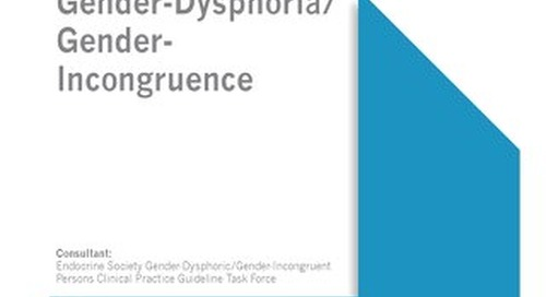 Treatment of Gender-Dysphoric/Gender-Incongruent Persons