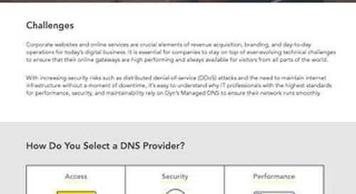 Executive Summary: Managed DNS