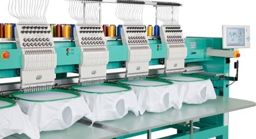 New Tajima TMAR-KC Takes Embroidery To The Next Level