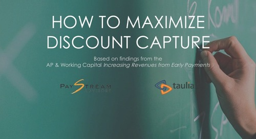 How to Maximize Discount Capture featuring PayStream