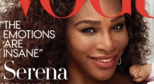 Serena Williams Covers Vogue With Her Baby Girl, Alexis Olympia