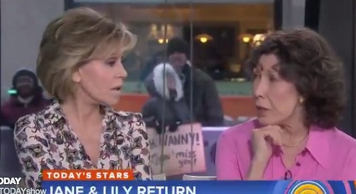 Jane Fonda Busts Out One Shady Comeback For Lily Tomlin's Face-Lift Joke