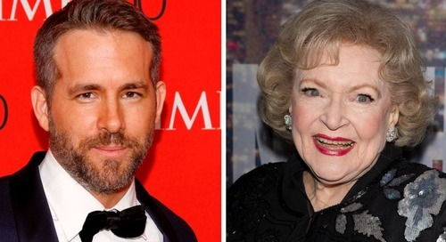 Ryan Reynolds Sure Knows How To Wish Betty White A Happy Birthday