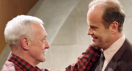 Kelsey Grammer On TV Dad John Mahoney: 'He Was My Father'