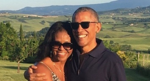 Michelle Obama Made A Valentine's Day Playlist For Barack, And It's Perfect
