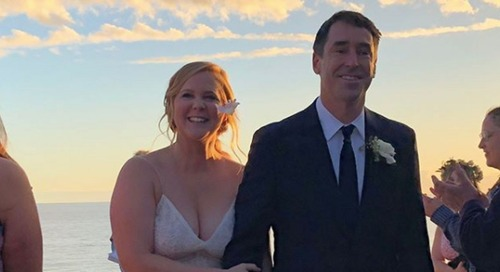 Amy Schumer Marries Boyfriend Chris Fischer After Just Months Of Dating