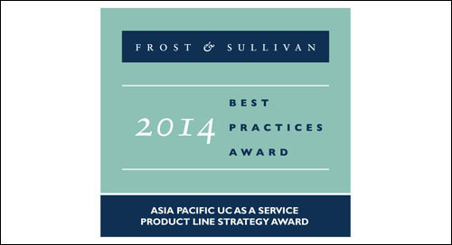 Tata Communications honoured with 2014 Asia Pacific Product Line Strategy of the Year in UCaaS Market Award by Frost & Sullivan