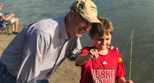 Governor Does Family Fishing Night!