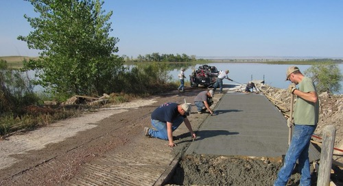 Improvements completed at Whitney Lake boat launch