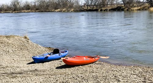 Bassway Strip WMA kayak landing improvements completed