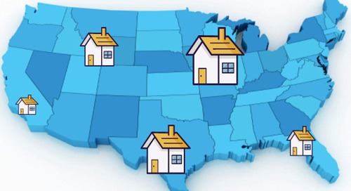 Here's How Big Of A House $200,400 Will Buy You In Each State