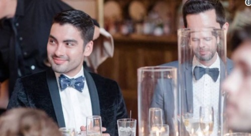 This Wedding Guest Has The Best Reaction To Hilarious Photo Fail