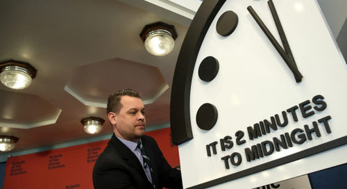 Apocalypse Now?: The Doomsday Clock is the Closest It's Been to Midnight Since 1953