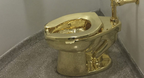 """Potty-Mouthed President Donald Trump Offered Gold Toilet in """"Loo"""" of Van Gogh Painting"""