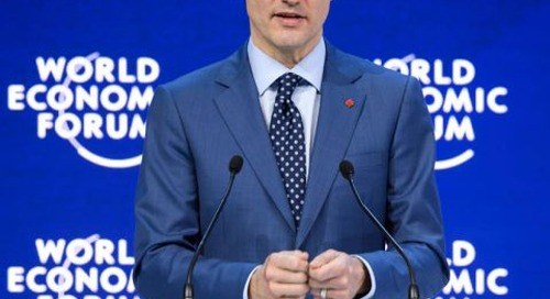 """Trudeau to World Economic Forum: """"We're in a New Age of Doing Business"""""""