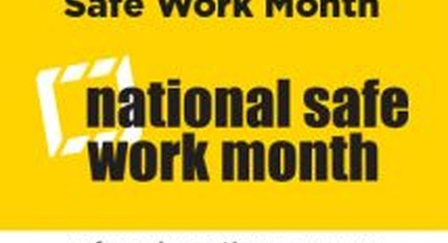 Safety initiatives recognised ahead of Safe Work Month