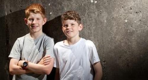 Mining kids launch clothing brand