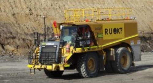 RUOK? trucks into local mine
