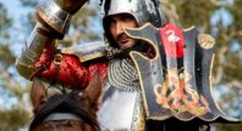Abbey Medieval Festival 2018 recreates toughest medieval traditions