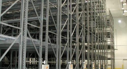 Mobilized Pallet Racks Maximize Freezer & Cooler Storage Space