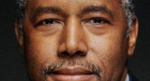 Carson Talks Mind Over Matter in Housing Struggles