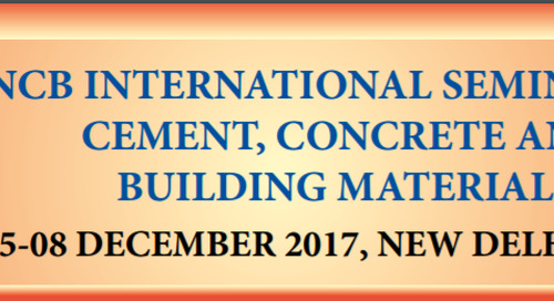 Meet us at NCB International Seminar in New Delhi, India from 05-08 December 2017