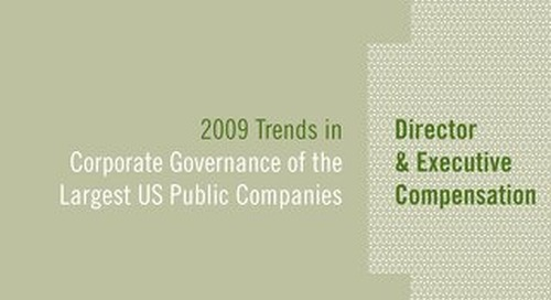 2009 Director & Executive Compensation Survey
