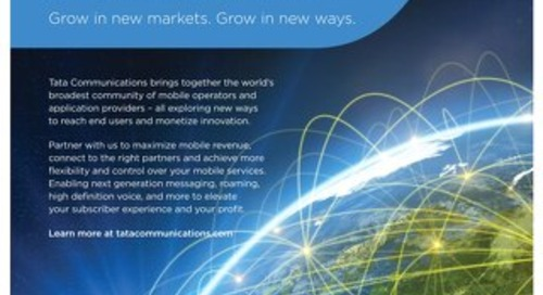 Grow in new markets...