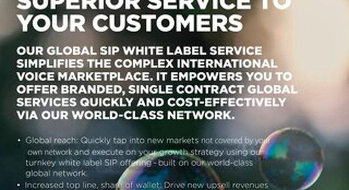 Global SIP Connect White Label Partner Datasheet