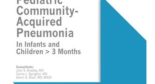 Pediatric Community-Acquired Pneumonia