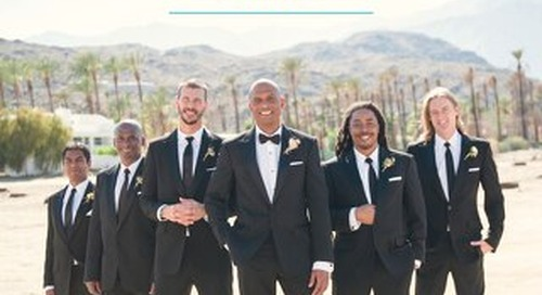 WeddingWire Menswear Guide 2016