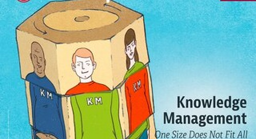 Knowledge Management: One Size Does Not Fit All (Jun 2016)