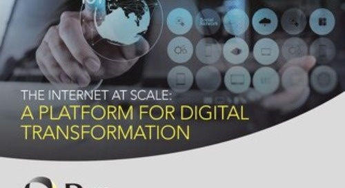 The Internet at Scale: A Platform for Digital Transformation
