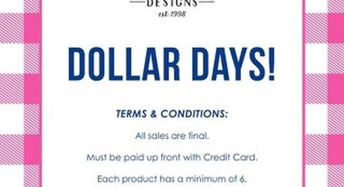 Dollar Days 2016