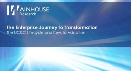 Wainhouse Lifecycle Whitepaper