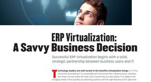 ERP Virtualization - a Savvy Business Decision