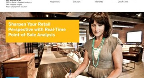 Sharpen Your Retail Perspective with Real-Time Point-of-Sale Analysis