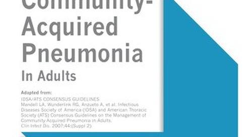 Community-Acquired Pneumonia (IDSA Bundle)