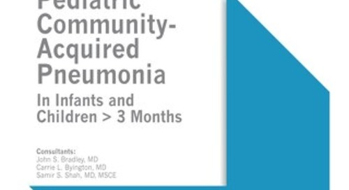 Pediatric Community-Acquired Pneumonia (IDSA Bundle)