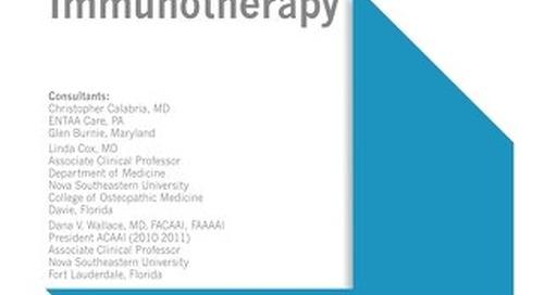 Immunotherapy (ACAAI/AAAAI Bundle)
