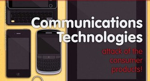Communication Technologies: Attack of the Consumer Products! (Spring 2011)