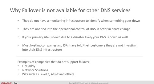DNS Active Failover:  A Resiliency Strategy That Really Works