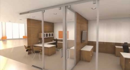 Movable Interior Office Walls | Full Height Portable Wall Partitions