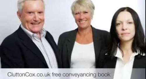Clutton Cox - How to avoid stress when moving home - Top 10 Tips from Conveyancing Solicitor