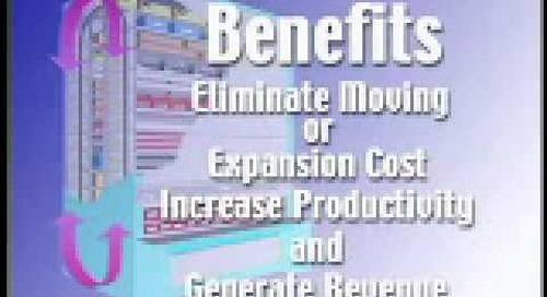 Kardex Remstar VSR | Vertical Storage Carousels | Megastar Megastation